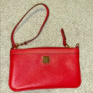 Dooney & Bourke Wristlet, red